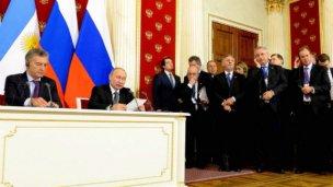 Bordet expuso ante empresarios rusos las potencialidades de Entre Ríos