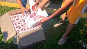 Secuestraron cigarrillos ingresados de contrabando