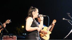 Una elisense en el Festival del Malambo