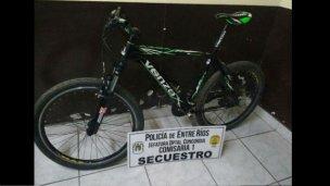 Por las redes sociales, supo que su bicicleta era robada