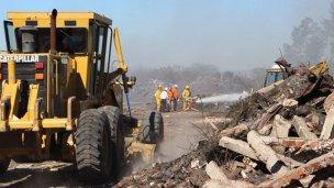 Denuncia e investigación por el incendio de un basural