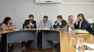 El senado provincial retoma las actividades