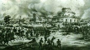 La Batalla de Caseros y el perro de Urquiza