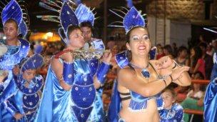 Fin de semana largo a puro carnaval