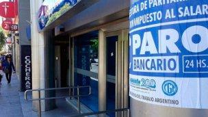 """""""Está ratificado el paro bancario del 19 y 20 de febrero"""""""