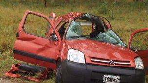 Murió mujer argentina en una peligrosa ruta uruguaya