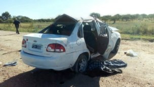 Lunes trágico: tres turistas murieron en un accidente