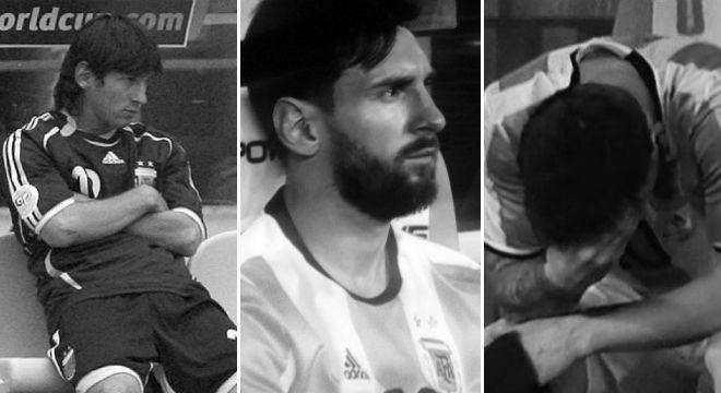 10 años de desazón en el banco para Messi: de Alemania 2006 a USA 2016.
