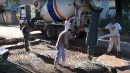 El Municipio de San José avanza en construcción de badenes