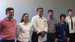 Alumnos de V. Elisa ganaron concurso sobre la energía