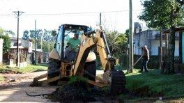 Se realizan trabajos en zonas rurales y barrios de San José