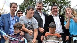 Cresto inauguró el Centro de Equinoterapia