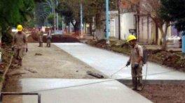 Continúan las obras del Programa Hábitat en la zona sur
